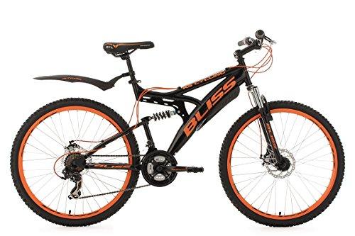 KS Cycling Mountainbike Fully 26\'\' Bliss schwarz-orange RH47cm