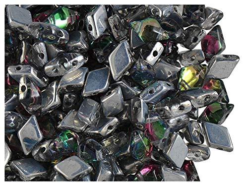 CHOOSE COLOR 50pcs 3x6mm Belly Rondelles Faceted Beads Czech Glass