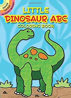 Little Dinosaur ABC Coloring Book (Dover Little Activity Books)