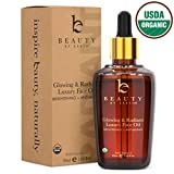 Organic Face Oil - Anti Aging Moringa Leaf Organic Jojoba Oil, Dark Spot Corrector Face Oils and Serums for Face Care, Face Moisturizer Anti Aging, Brightening Oil for Face (1 Bottle)