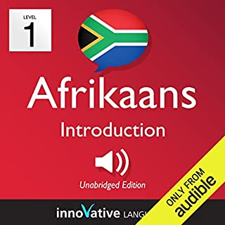 Learn Afrikaans - Level 1: Introduction to Afrikaans cover art