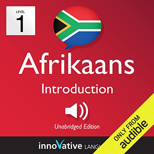 Learn Afrikaans - Level 1: Introduction to Afrikaans audiobook cover art