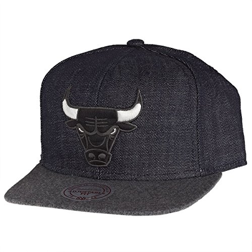 Mitchell And Ness - Casquette Snapback Homme Chicago Bulls Team Up - Navy