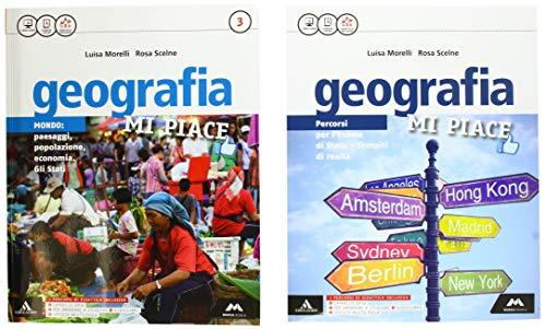 Geografia mi piace. Atlante-Fascicolo. Per la Scuola media. Con e-book. Con 2 espansioni online (Vol. 3)