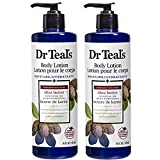 Dr Teal's Body Lotion - Ultra Rich Shea Butter - 16 oz Pack of 2
