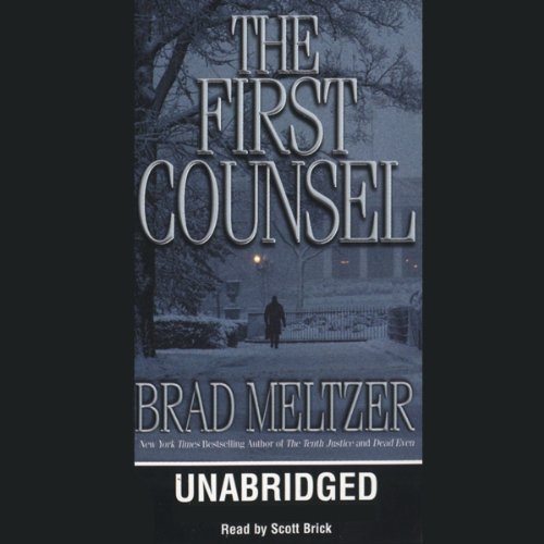 The First Counsel audiobook cover art