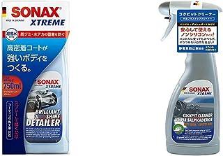 SONAX 287400 Lackpflege & XTREME CockpitReiniger Matteffect (500 ml) Reinigung und Pflege für alle Kunststoffoberflächen im Autoinnenraum | Art Nr. 02832410