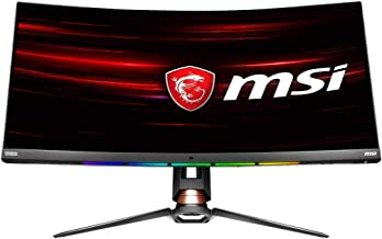 "MSI Non-Glare Ultra Wide 21: 9 Aspect ratio 3440 X 1440 (Uwqhd) 144Hz Refresh Rate 1ms HDR 400 3K Resolution 34"" Freesync ..."