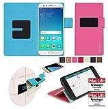 reboon Hülle für Oppo F3 Plus Tasche Cover Case Bumper   Pink   Testsieger
