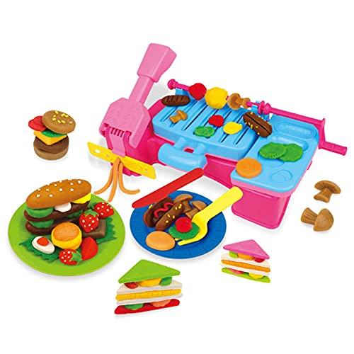 shandianniao Conjunto de Herramientas de Arma, procesador de Alimentos Knemed, Plastilina Bricolaje Play Modeling Clay Kid Juega Juguetes Inicio (Color : C)