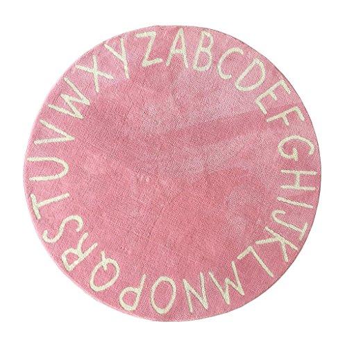 Good thing tapis Tapis tapis rond, tapis alphabet pour enfants (Couleur : B, taille : Diameter 150cm)
