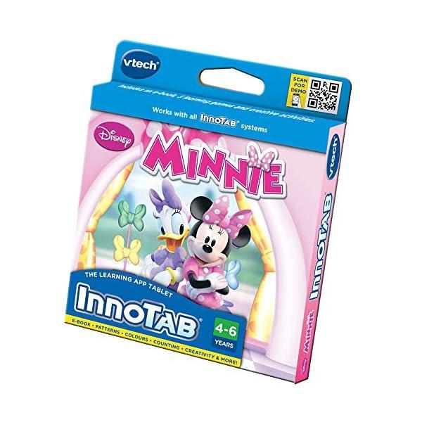Innotab VTech Tableta Educativo Minnie (versión en inglés), Color Rosa (231703)