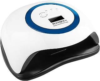 LUOLENG Kit de lámpara de uñas LED 168W Lámparas de uñas LED UV con sensor infrarrojo automático, lámpara de gel profesional para uñas y uñas de los pies