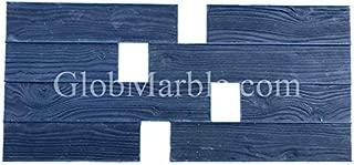 GlobMarble Stamp Mat Flexible SM 5200/F. Woodgrain Stamped Concrete. 3 1/2