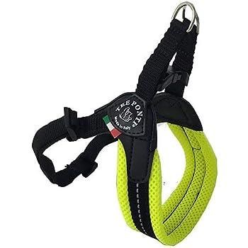 Treponti TRE Ponti Easy Fit Mesh Classic Neon Dog Harness, Size 2.5, Yellow