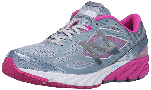 New Balance Women's W870V4 Run Shoe-W, Blue/White, 5 D US