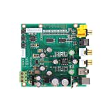 LanGuShi Useful ES9038 Q2M Audio DAC DSD Decoder Board Support IIS DSD Coaxal Fiber Input 384KHz DOP with OLED D5-001 Durable (Color : Type 1)