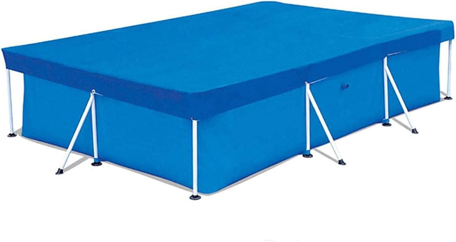 Cobertor para Piscina Rectangular, Fundas para Piscinas Resistente a los Rayos UV Duradera, Cubierta De Piscina para El Verano Al Aire Libre - Piscina Desmontable Pool Cover (300*200cm)