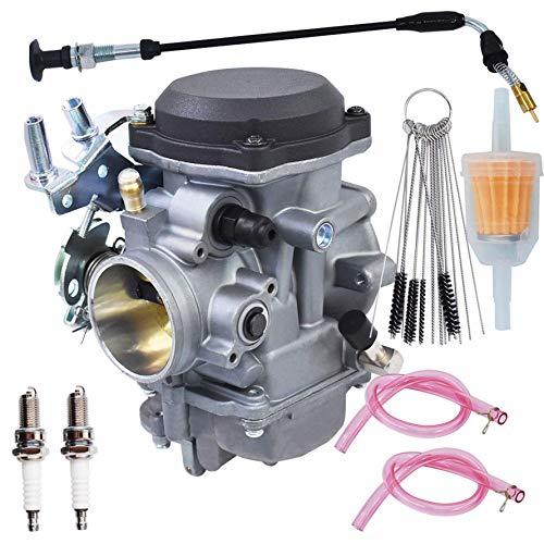 Accesorio carburador reconstrucción 40 mm repuesto para Harley Davidson Big Twin Sportster 883 1200 Electra Glide H-D Dyna XL883 XL 883 CARB XLH883 27490-04 piezas