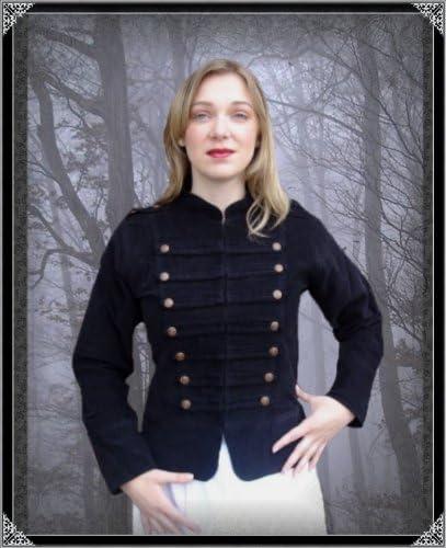 Leonardo Carbone Steampunk Damen Gothic Uniformjacke Emilia