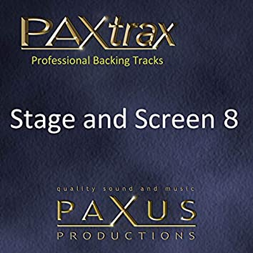 Paxtrax Professional Backing Tracks: Stage & Screen 8