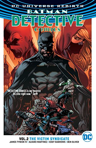 Detective Comics TP  Vol 2 The Victim Syndicate (Rebirth) (Batman: Detective Comics: Dc Universe Rebirth)