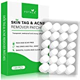 Skin Tag and Acne Remover Patches, 120Pc Premium Formula Skin Tag Removal, Tag Dry and Fall Away, Natural Ingredients, Safe and Effective.
