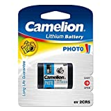 Pila Fotográfica Camelion 2CR5 Blister 1Ud., 6V, Lithium