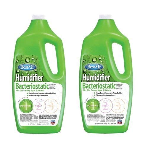 BestAir 3BT, Original BT Humidifier Bacteriostatic Water Treatment, 32 oz (2 Pack) …
