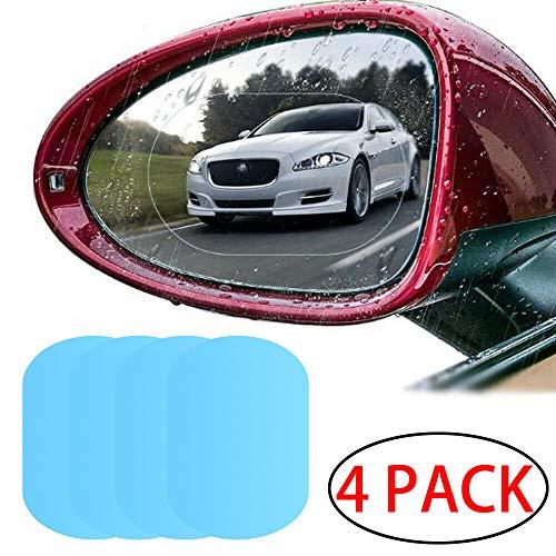 """""""N/A"""" LERTREEUK 4 Stück Auto-Rückspiegel-Schutzfolie, HD Anti-Beschlag, wasserdicht, 145 x 100 mm"""