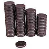 Creative Hobbies Ceramic Industrial Magnets - 1 Inch (25mm) Round Disc - Ferrite Magnets B...