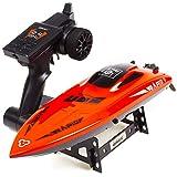 Ydq RC Boot, 2,4GHz 20MPH High Speed Boot Mit Kapsel Standard Funktion Fernbedienung Spielzeug RC Rennboot FüR Erwachsene Und Kinder,