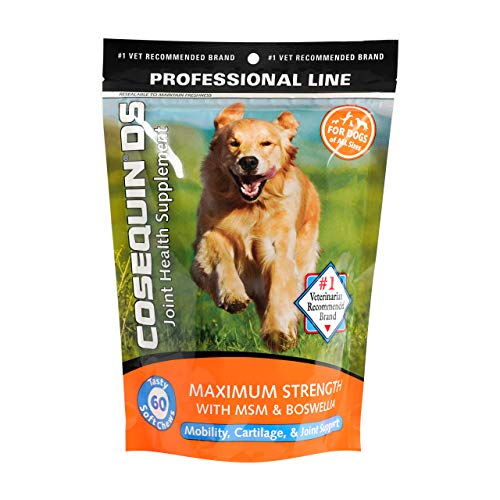 Cosequin DS Plus MSM Professional Line for Dogs, 60 soft chews