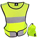 HiVisible Reflective Vest - Reflective Running Gear for Men and...