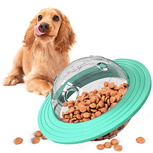 Dreamon Hund Spielzeug Ball, Treat Feeder Ball Interaktives Spielzeug Ungiftig Bite Resistant Spielzeug IQ Training Ball Hunde