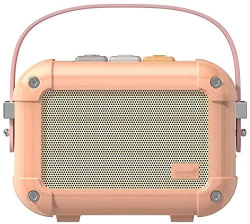 Bluetooth Audio inalámbrico pequeño altavoz portátil teléfono móvil creativo retro lindo Radio apoyo y sistema Android
