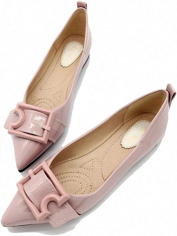 Kyle Walsh Pa Women Ballet Flats Pointed Toe Buckle Ladies Stylish Soft Footwear shoes women