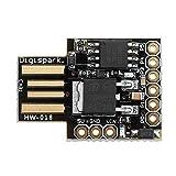 1. Supporto per Arduino IDE 1.0+ (OSX / Win / Linux) 2. Alimentazione tramite USB o sorgente esterna - 5 V o 7 -35 V (selezione automatica) 3. Regolatore di bordo 5V 500ma 4. USB incorporato (e debug seriale) 5. 6 pin I / O (2 vengono utilizzati per ...