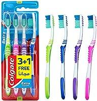 كولجيت فرشاة أسنان نظافة - 4 حبات