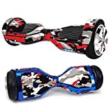 MightySkins Skin Compatible with Hover-1 H1 Hoverboard Scooter - Red Camo | Protective, Durable, and Unique Vinyl Decal wrap Cover |...