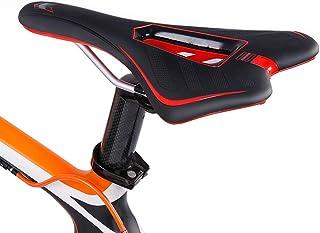 Sguan-wu Sill/ín de Bici,Asiento de Bicicleta Ultraligero a Prueba de Golpes Spider Web MTB Bicicleta Coj/ín Hollow Saddle