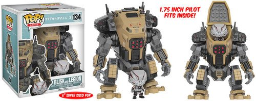 Titanfall Pop! Games 2 - Blisk and Legion (15Cm) #134 Vinyl Figures