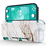 ZADORN Protective Case for Nintendo Switch Lite 2019,Perfect Grip TPU Cover with Fashionable Designs,Shockproof Game Carrying Travel Case for Nintendo Switch Lite 5.5' Golden Marble