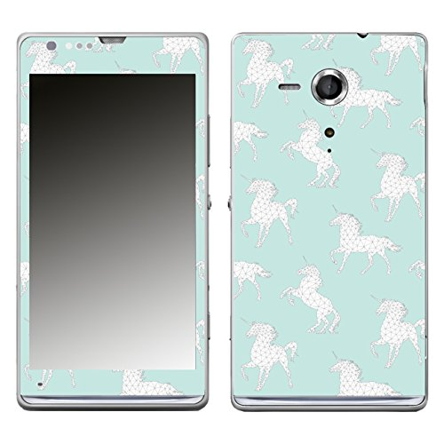 Disagu SF-104951_1113 - Pellicola di design per Sony Xperia SP, motivo geometrico unicorno, 02