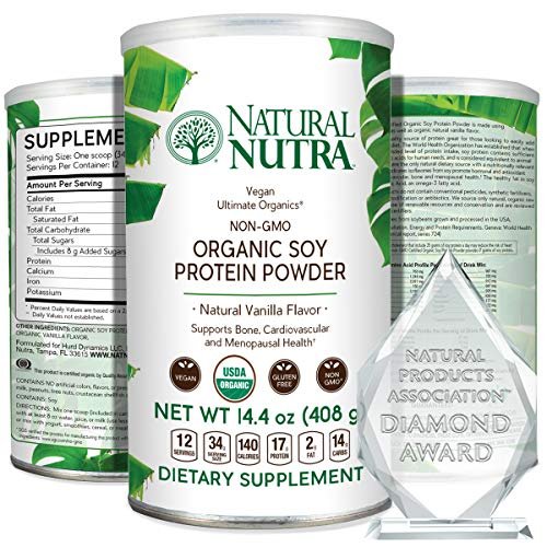 Natural Nutra Organic Soy Protein Powder