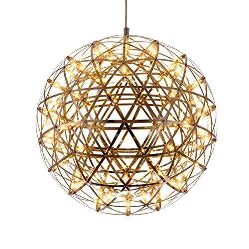 DFMD led-aansteker, modern, rond, van roestvrij staal, meerdere rijen, paardenbloemen, plafondverlichting, hanglamp, creatieve woonkamerlamp
