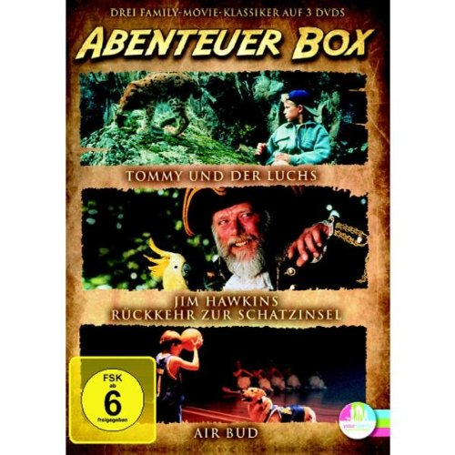 Abenteuer, Action, Klassiker Box - Die legendären Abenteuer, Action Klassiker [3 DVDs]
