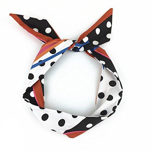 MultiKing hoofdbanden hoofddoek haaraccessoires haarbanden hoofdband accessoires leuke polka dots wild punten strepen sjaals rood