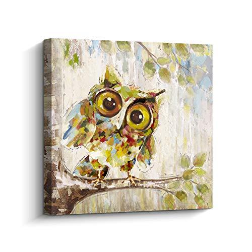 Curious Owl Canvas