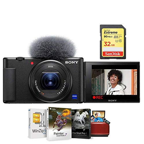 Sony ZV-1 Compact 4K HD Camera - Free Bundle with...